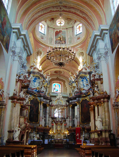 Dominican Church of the Holy Spirit, Vilnius, Lithuania