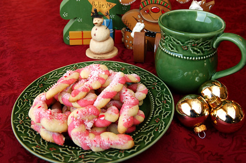 Candy Cane Cookies 1
