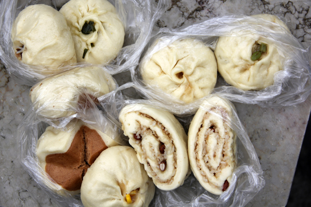 Beautiful Selection of Baozi (包子)