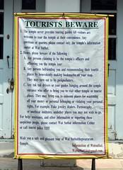 Bangkok - Tourists Beware - Wat Suthat (16)