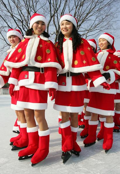 Tradiciones y costumbres navide as a nivel mundial corea - Costumbres navidenas en alemania ...