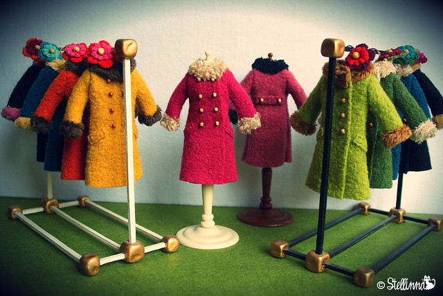 Boiled Wool Coats !