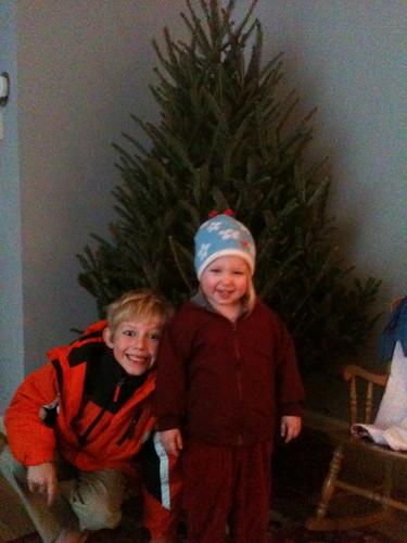 tree time! by Jacks mom
