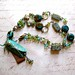 Cicada Verdigris Necklace