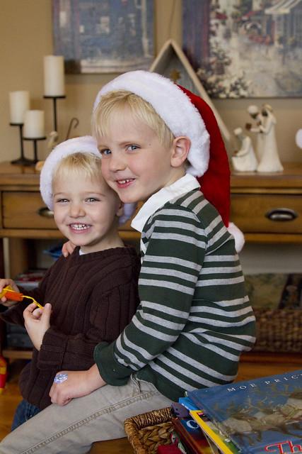 Santa boys