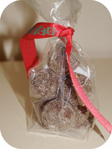 Cocoa Loco Dark Praline Hazelnut Truffle
