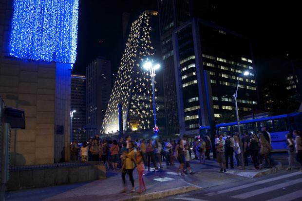 Natal 2011 na Avenida Paulista