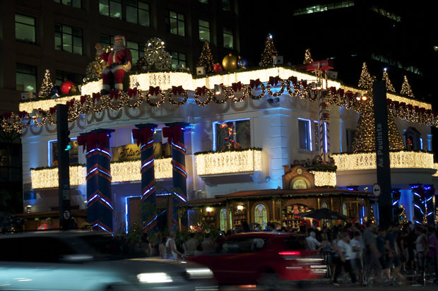 Natal 2011 na Avenida Paulista 3