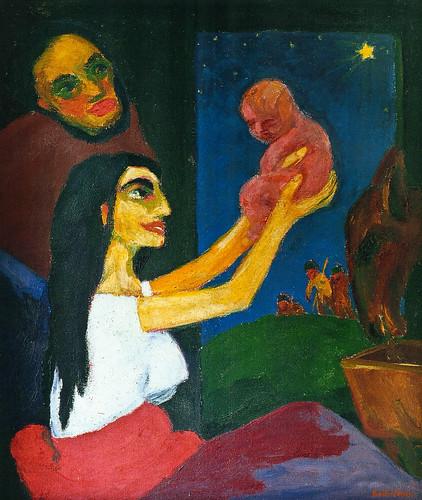 [ N ] Emil Nolde -La nuit sacrée (1912) by Cea.
