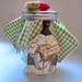 cookie jar + recipe gift for teacher by OneGirlCircus