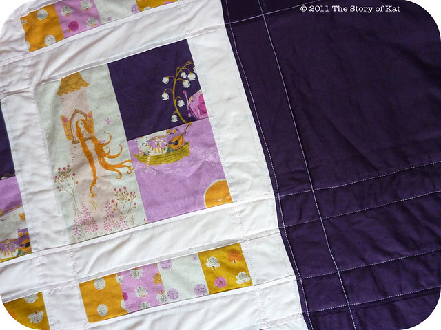 Finished quilting at last!