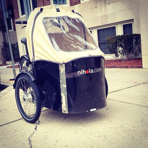 Nihola Cargo Trike, Cambridge MA