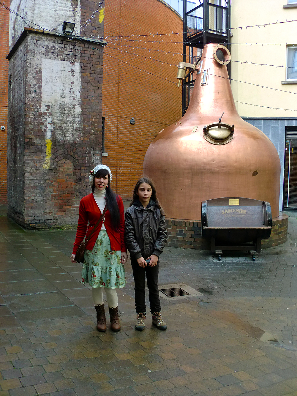 The Old Jameson Distillery - Dublin, Ireland.