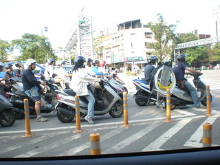Taiwan scooters