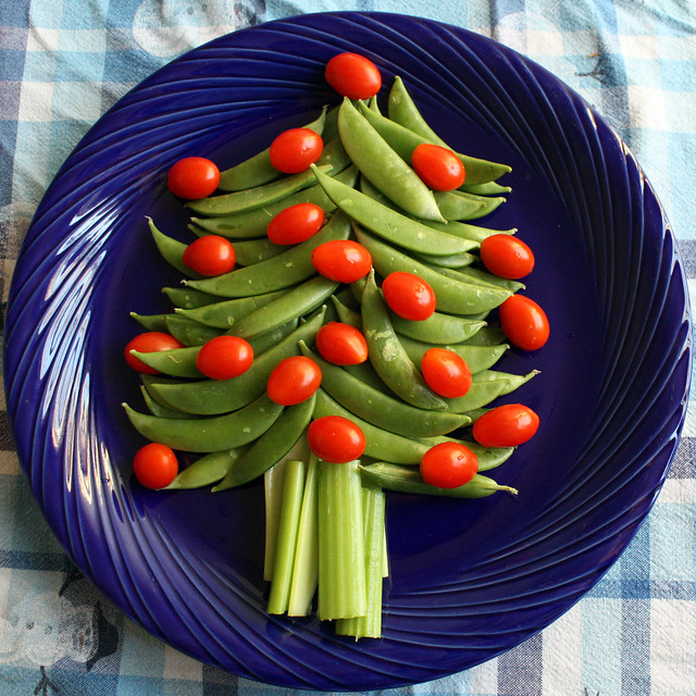 Crudite Christmas Tree