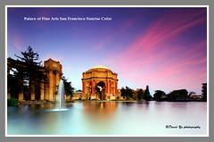 Palace of Fine Arts San Francisco Sunrise Color