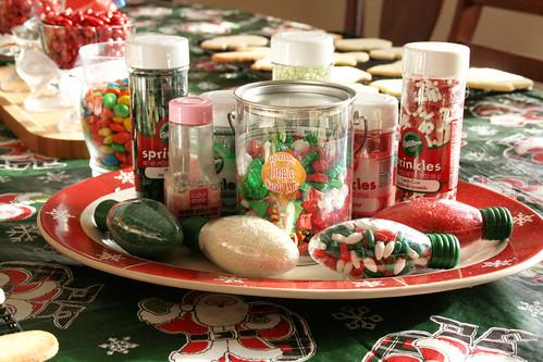 Sprinkles & decorations.