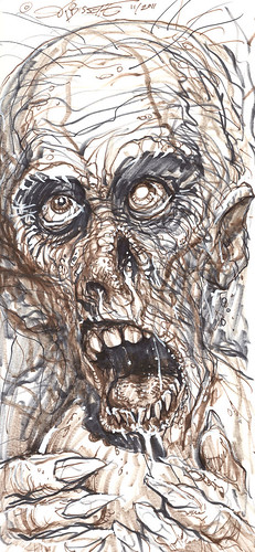 """ZOMBIE"" (( 2011 )) [[ The art of S.R. Bissette ]]"