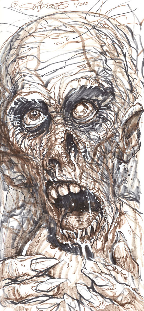 """""""ZOMBIE"""" (( 2011 )) [[ The art of S.R. Bissette ]] by tOkKa"""
