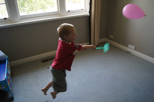 Balloon Games - tennis