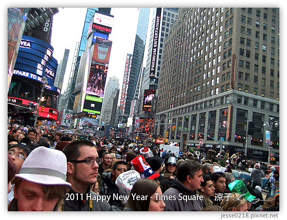 2011 Happy New Year - Times Square 7