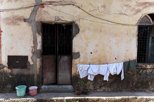 Laundry and Wall
