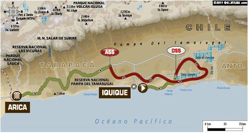 Etapa 10 Dakar 2012