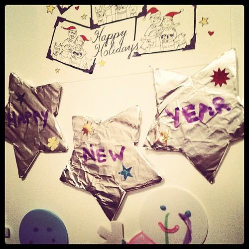 New year stars