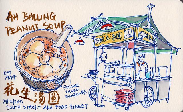 Sesame dumplings @ Chinatown