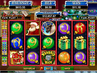Naughty or Nice Slot Free Spins