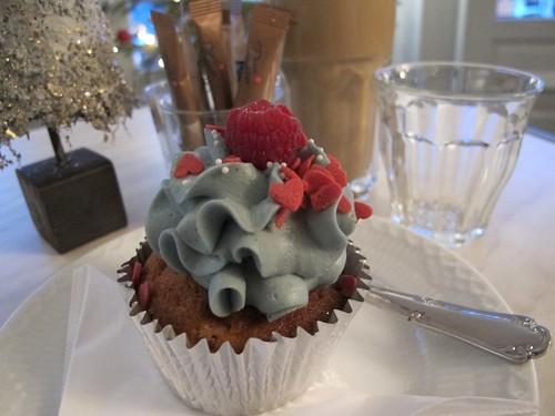 Bohemian Raspberry Cupcake, Serenity Cupcakes, København, Danmark
