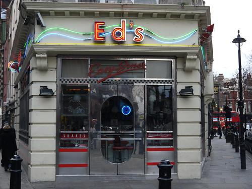 Ed's Easy Diner - Moor Street, Soho by Yekkes