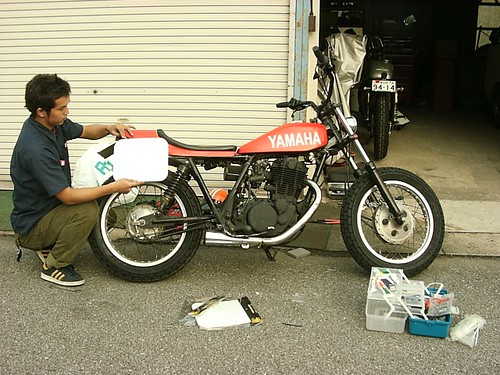 YAMAHA SR400 DIRT TRACKER CUSTOM