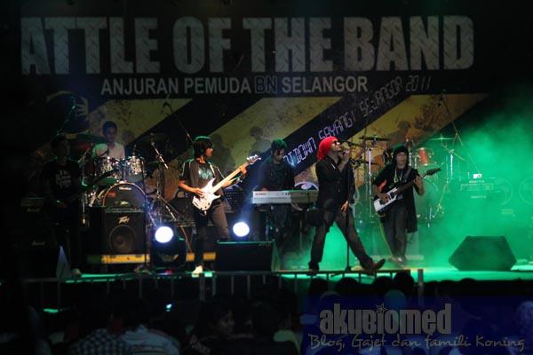 Battle of the band di Karnival Sayangi Selangor i-city