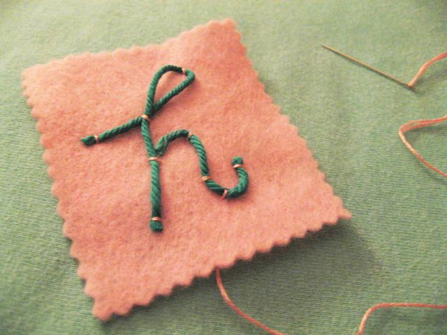 Couching 101 on Feeling Stitchy