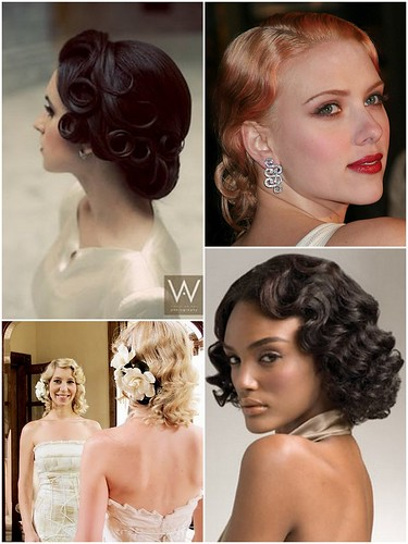 Pin Curls & Marcel Waves by Lea Ann Belter Bridal
