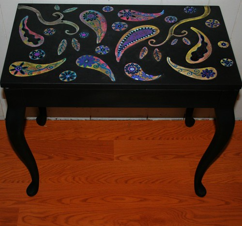 Piano Bench Makeover by Rick Cheadle Art and Designs