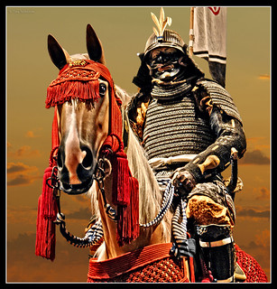 Mounted Samurai Soldier.