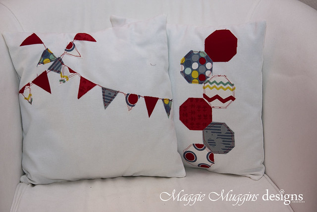 Scrap Fabric Pillows