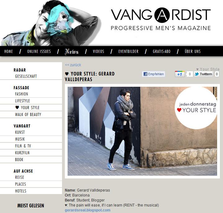 the vangardist