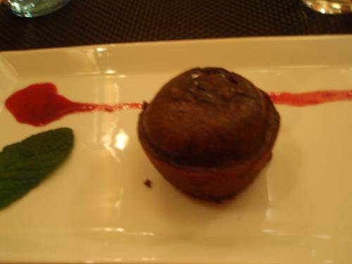 Zaragoza | Restaurante Bole | Culant de chocolate