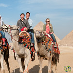 Camel Ride at the Giza Pyramids - Egypt