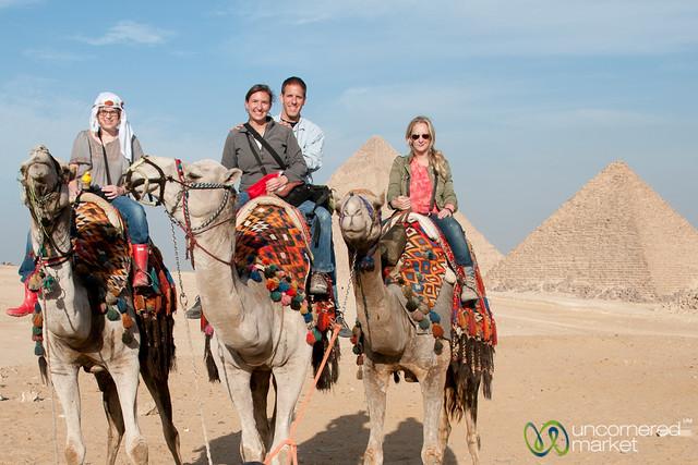 Camel Ride at the Giza Pyramids - Egypt