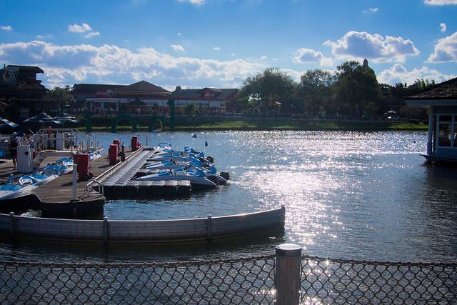 Downtown Disney Lake