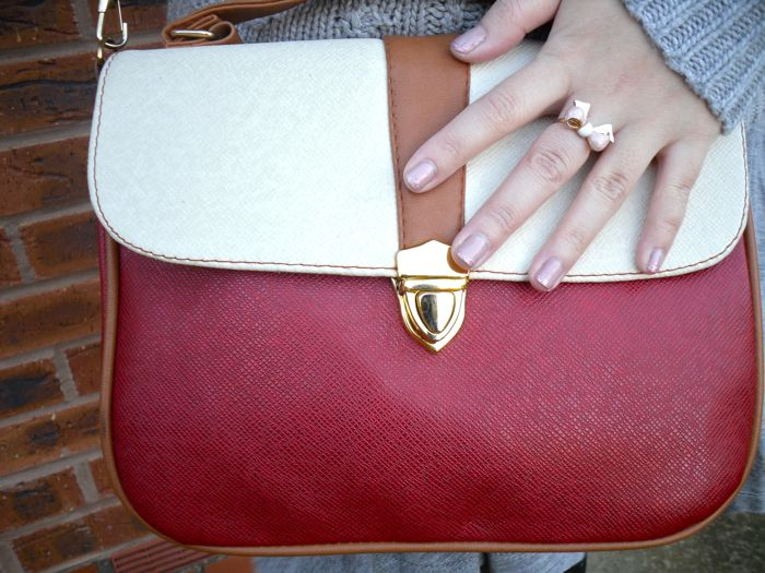 red bag and ring
