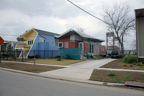 Homes built by the Make It Right Foundation. photo by George Ingmire