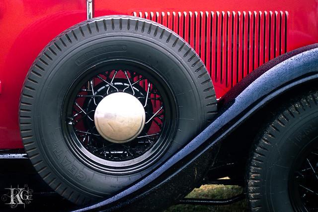 Vintage Car : Nash Series 980 Victoria Convertible 1932