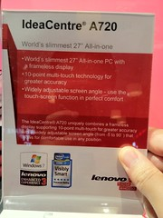 IdeaCentre A720 by Lenovo