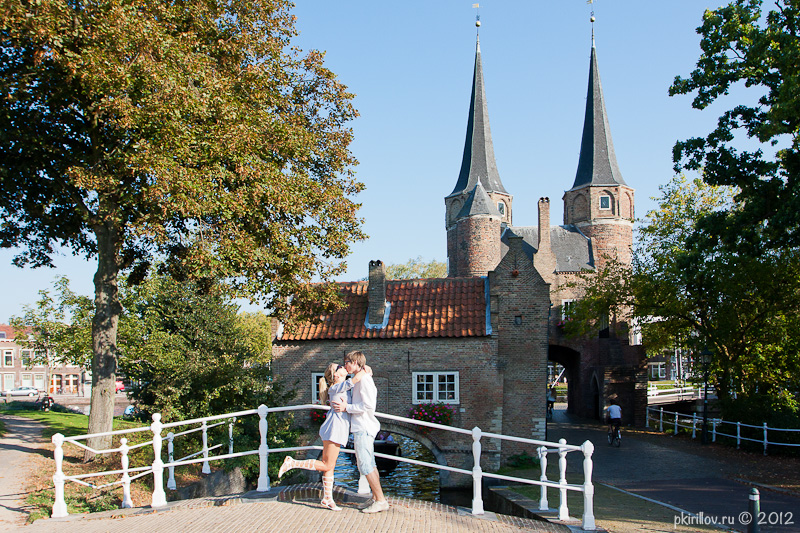 Walking in Delft