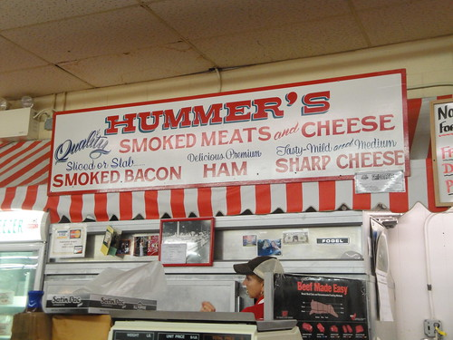Get yours smoked at Hummer's